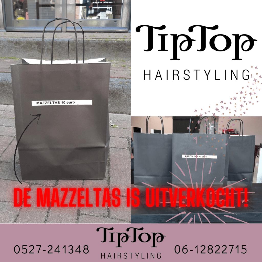 Mazzeltas is uitverkocht TipTop Hairstyling