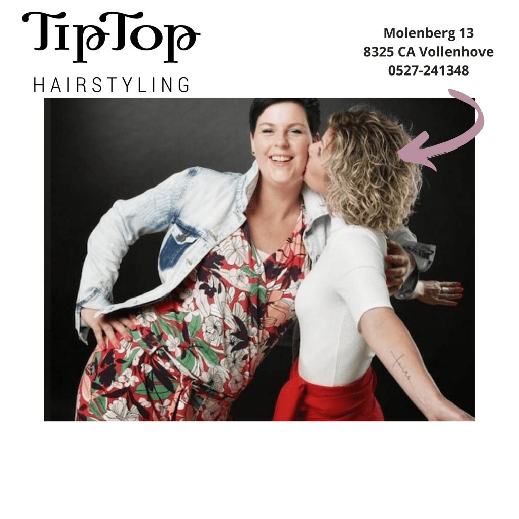 TipTop Hairstyling Miranda en Henrieke Haarwerken Kapsalon Visagie