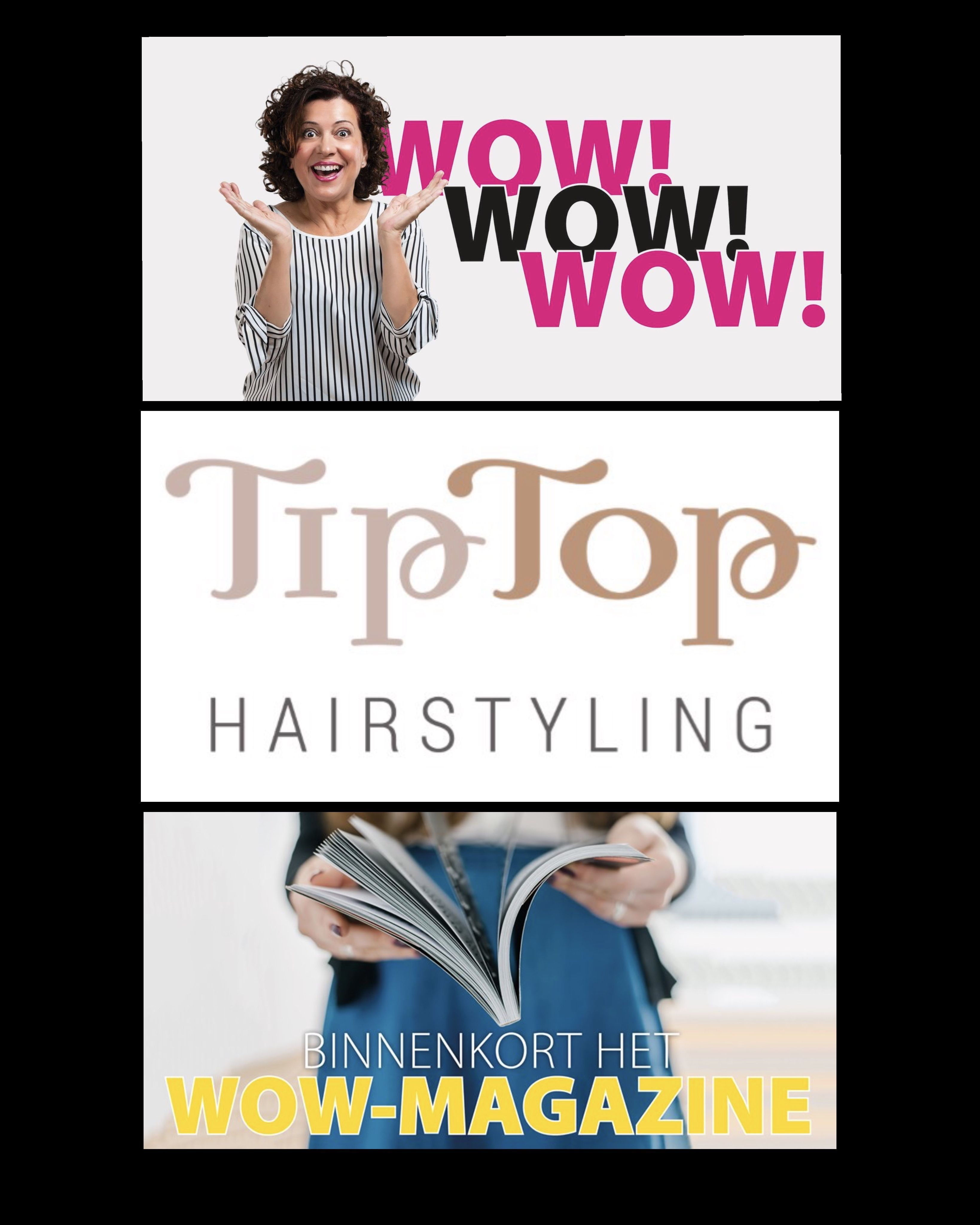 WOW magazine TipTop Hairstyling